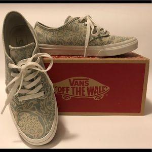 4e44c458738 Vans Shoes - VANS Camden Stripe Henna Light Blue paisley print
